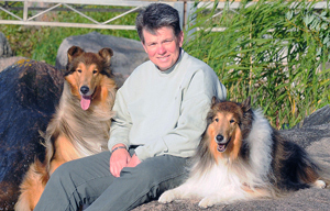 Deanna Levenhagen and collies